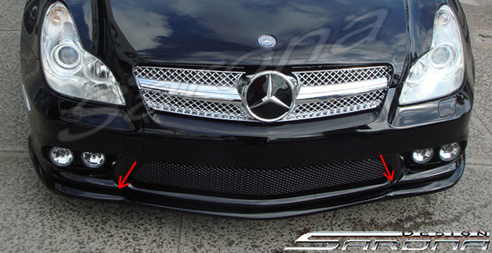 Custom Mercedes Cls Front Bumper Add On Sedan Front Add On