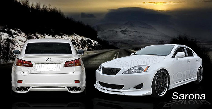 2008 Lexus Is 250 For Sale >> Custom Lexus IS 250 Sedan Body Kit (2006 - 2010) - $1490 ...