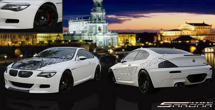 Custom BMW 6 Series Body Kit  Coupe & Convertible (2004 - 2010) - $1990.00 (Manufacturer Sarona, Part #BM-063-KT)