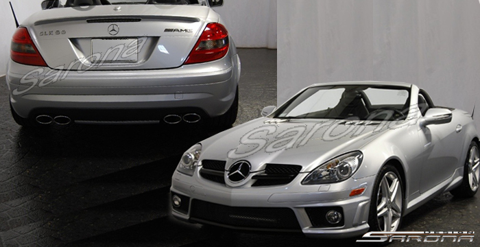 Body Kit For Slk350 Sarona Or Amg Front Bumper Mercedes