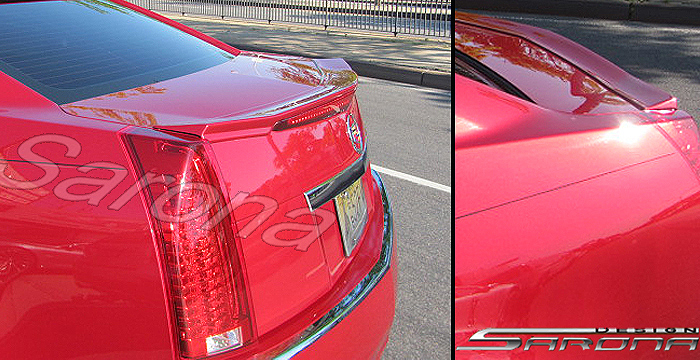 Cadillac Cts Trunk Roof Rear Bumper Cover Mesh Grill Front Add On Lip Spoiler Custom Sport Design Sarona Chin Auto Accessories Body Kit on 2006 Cadillac Cts Front Bumper