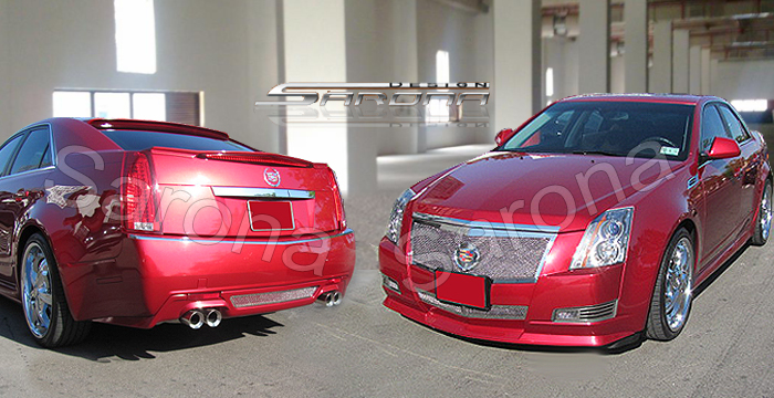 Cadillac Cts Oem Custom Sarona Body Kit Side Skirts Fenders Front Rear Bumper Add On Trunk Roof Wing on 2010 Buick Paint Colors