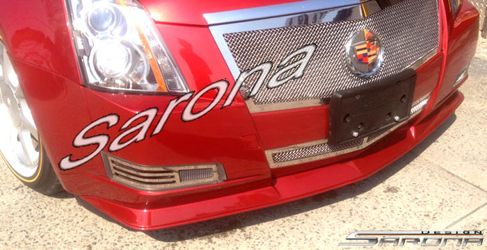 Custom Cadillac Cts Front Bumper Add On Sedan Front Add On