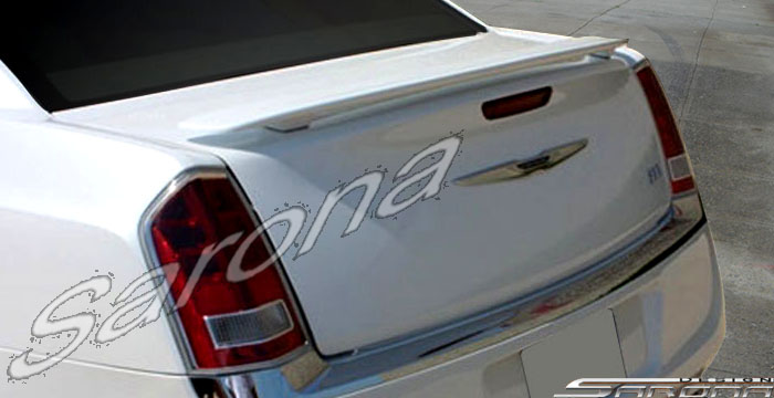 Custom Chrysler 300C Trunk Wing  Sedan (2011 - 2019) - $229.00 (Part #CR-010-TW)