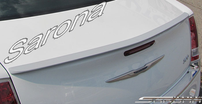 Custom Chrysler 300C Trunk Wing  Sedan (2011 - 2019) - $199.00 (Part #CR-011-TW)