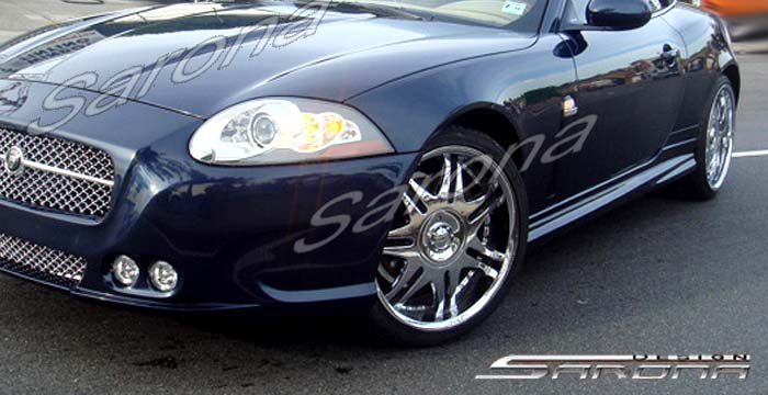 Custom Jaguar XK Side Skirts Coupe (2007 - 2012) - $590 00