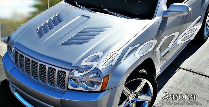 custom jeep grand cherokee hood
