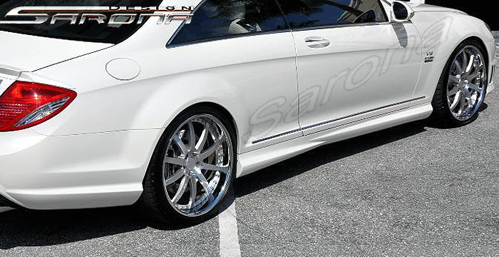 Mercedes Cl Cl Cl W Amg Side Skirts Custom Oem Style Sport Sarona Design Body Kits Left Right New
