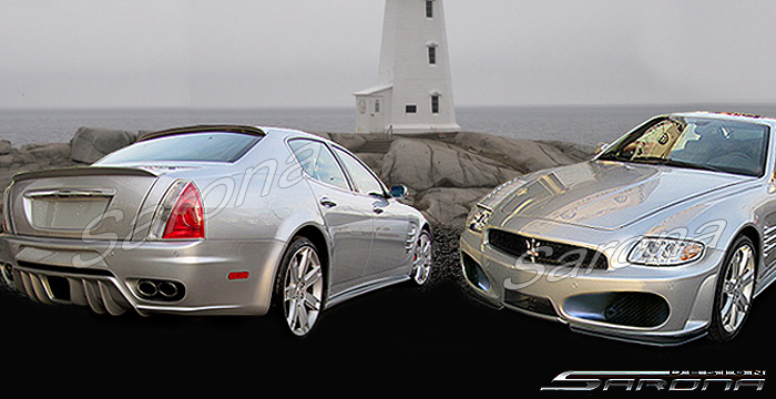 Custom Maserati Quattroporte Sedan Body Kit 2005 2010