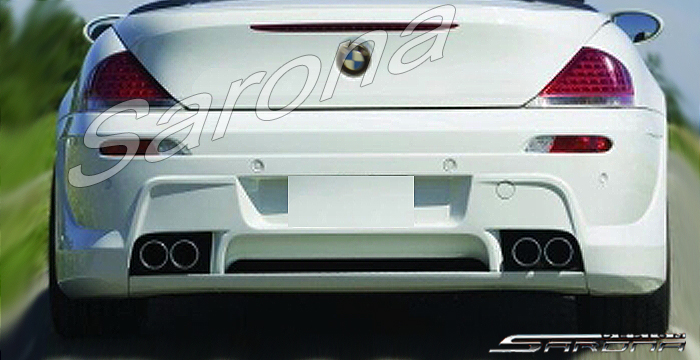 Custom BMW 6 Series  Coupe & Convertible Rear Bumper (2004 - 2010) - $790.00 (Part #BM-016-RB)
