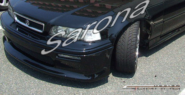 Acura Legend Custom Front Lip Spoiler Bumper Cover Body Kit Sarona Mesh Grill Grill Fender Hood Roof Trunk Wing