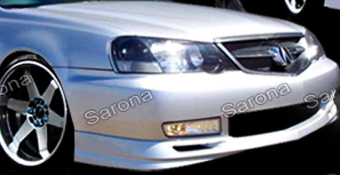 Custom Acura TL Sedan Front Addon Lip Part - 2003 acura tl front bumper