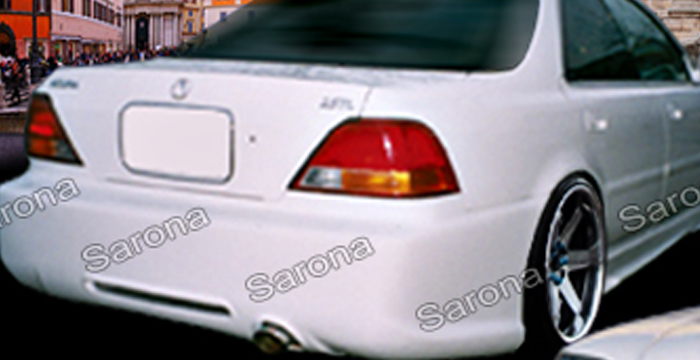 Custom Acura TL Sedan Rear Bumper Part AC - Acura tl rear bumper