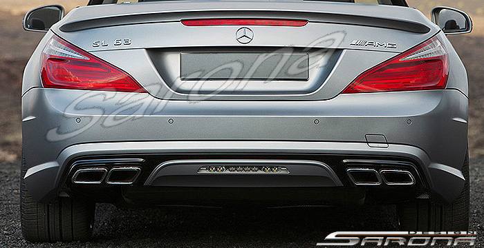 Custom Mercedes Sl Convertible Rear Bumper 2013 2016