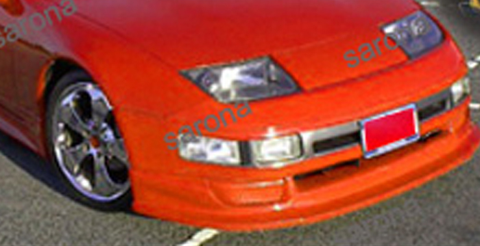 Custom Nissan 300ZX Coupe & Convertible Front Add-on Lip ...