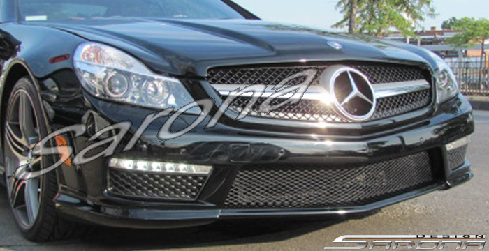 Custom Mercedes SL  Convertible Front Bumper (2009 - 2012) - $690.00 (Part #MB-045-FB)