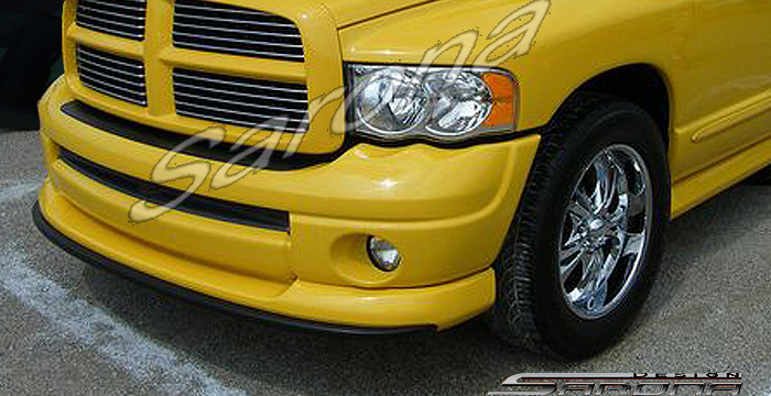 Custom Dodge Ram Front Add On Lip Sarona