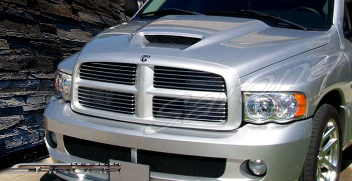 Dodge Ram Pick Up Truck Custom Hood Srt Srt Sarona Body Kit on 1991 Dodge Durango