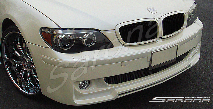 Custom BMW 7 Series  Sedan Front Bumper (2005 - 2008) - $690.00 (Part #BM-022-FB)