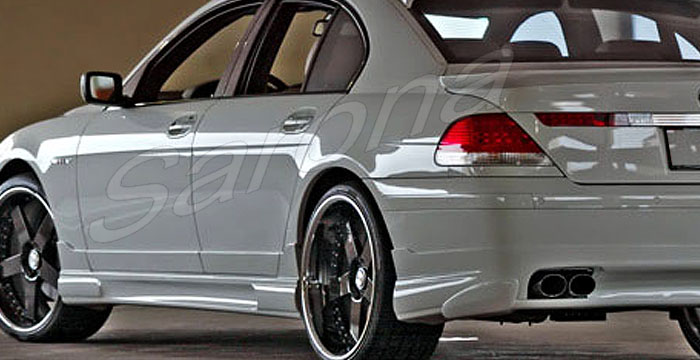Custom BMW 7 Series Sedan Side Skirts 2002