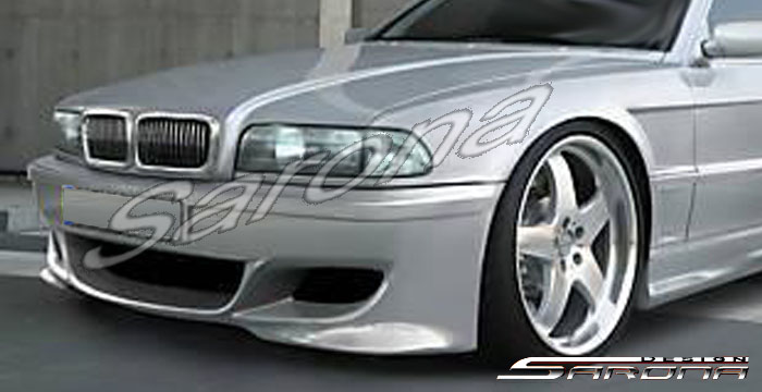 Custom BMW 7 Series Sedan Front Bumper 1995