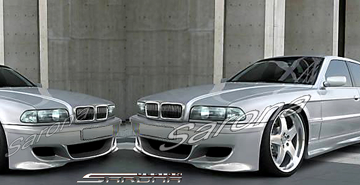 Custom Bmw 7 Series Sedan Front Bumper 1995 2001