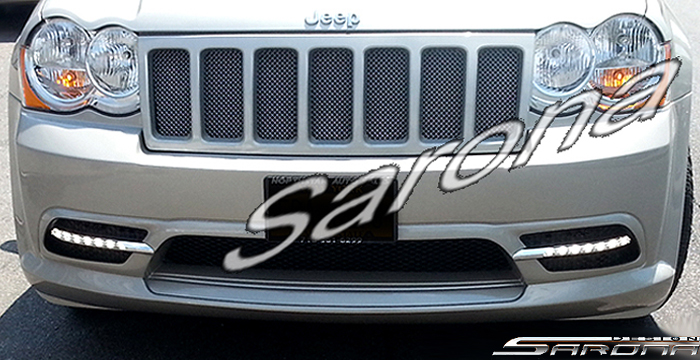 Custom Jeep Grand Cherokee  SUV/SAV/Crossover Front Bumper (2008 - 2010) - $650.00 (Part #JP-004-FB)