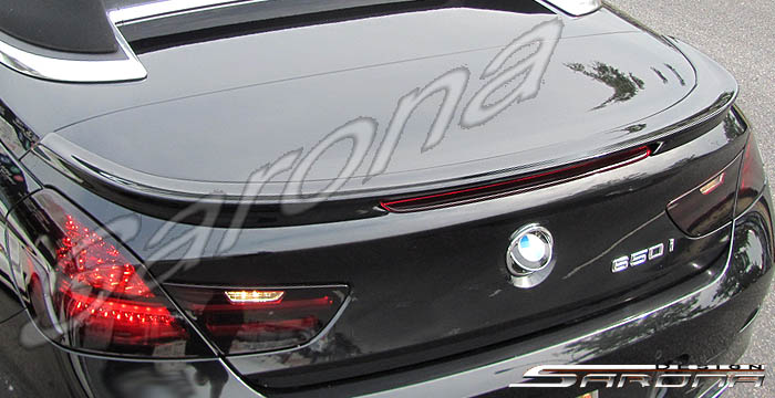 Custom BMW 6 Series  Convertible Trunk Wing (2011 - 2017) - $390.00 (Part #BM-078-TW)