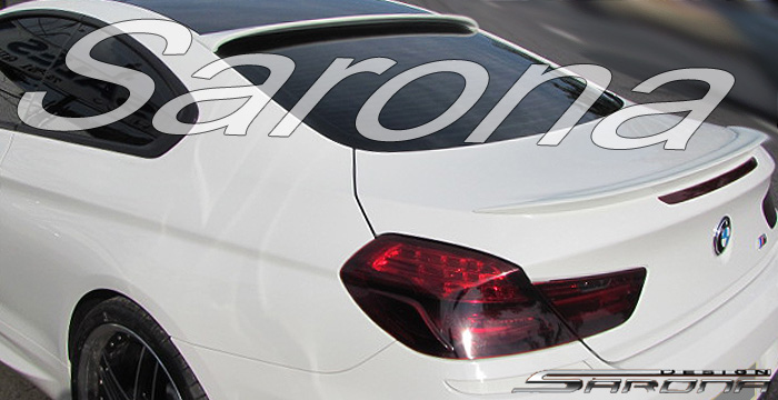 Custom BMW 6 Series  Coupe Roof Wing (2011 - 2016) - $325.00 (Part #BM-034-RW)