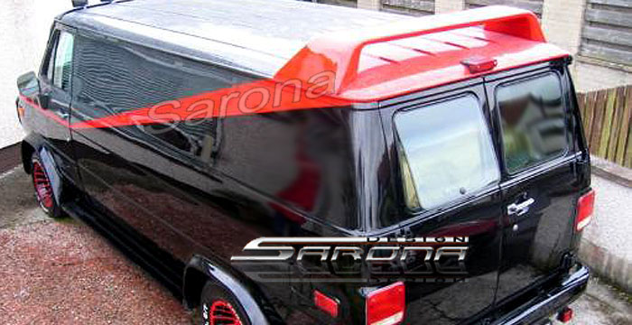 Custom GMC Van Roof Wing 1977