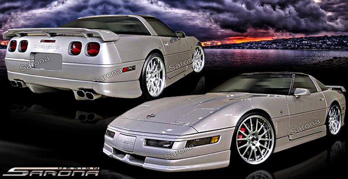 Custom 91 96 Corvette Kit 32 01 Coupe Body Kit 1991