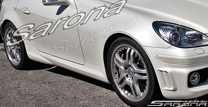 Custom Mercedes Slk Convertible Side Skirts 2005 2011