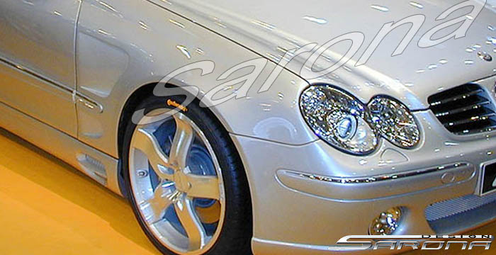 Custom Mercedes Clk Coupe Amp Convertible Fenders 2003