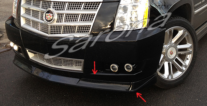Custom Cadillac Escalade Suv Sav Crossover Front Add On