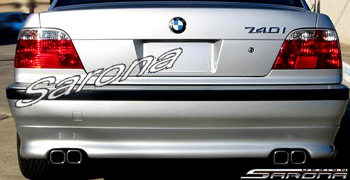 Custom BMW 7 Series  Sedan Rear Add-on Lip (1995 - 2001) - $325.00 (Part #BM-012-RA)