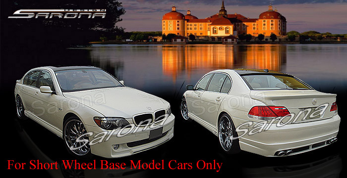 Custom BMW 7 Series  Sedan Body Kit (2005 - 2008) - $1790.00 (Part #BM-067-KT)