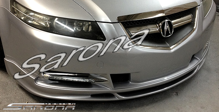 Custom Acura TL Front Addon Lip Sarona - 2004 acura tl dashboard replacement