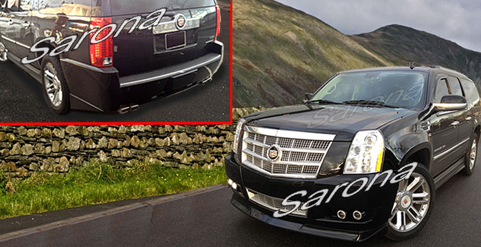 Custom Cadillac Escalade SUV/SAV/Crossover Front Add-on Lip (2012