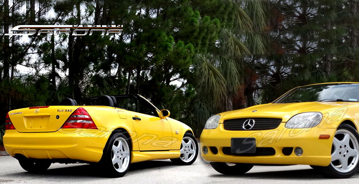 Custom 97 01 Slk Kit 92 18 Coupe Body Kit 1998 2004