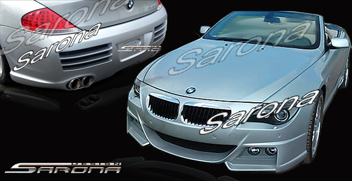 Custom BMW 6 Series  Coupe & Convertible Body Kit (2004 - 2010) - $2290.00 (Part #BM-068-KT)