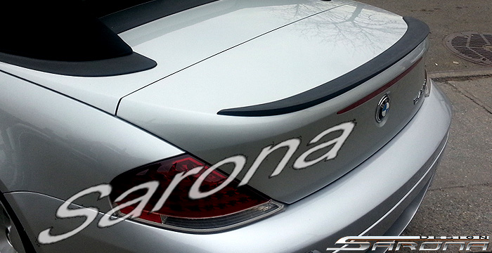 Custom BMW 6 Series  Convertible Trunk Wing (2004 - 2007) - $279.00 (Part #BM-082-TW)