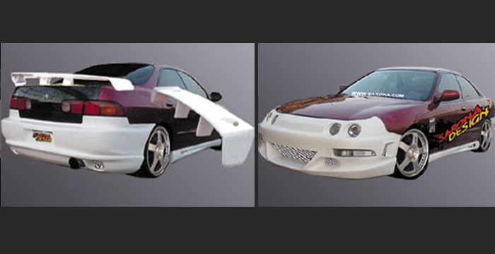 Custom Acura Integra Body Kit Coupe - Body kits for acura integra