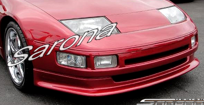 custom nissan zx coupe convertible front add  lip    part ns  fa
