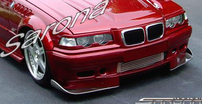 Bmw E Spoiler Front Bumper Body Kit Sarona Trunk Roof Grill Mesh Chrome