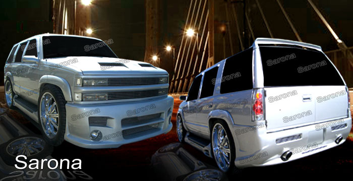 Custom Chevy Tahoe Body Kit  SUV/SAV/Crossover (1992 - 1999) - $1490.00 (Manufacturer Sarona, Part #CH-007-KT)