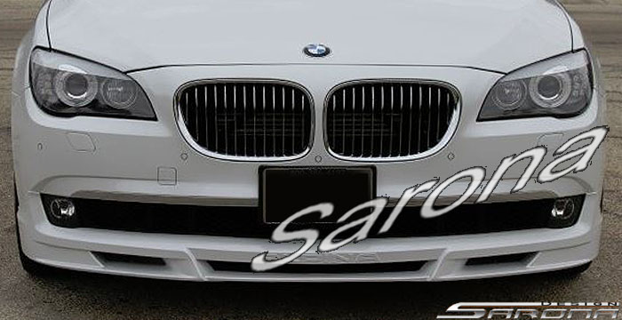 Custom BMW 7 Series  Sedan Front Add-on Lip (2009 - 2012) - $490.00 (Part #BM-034-FA)