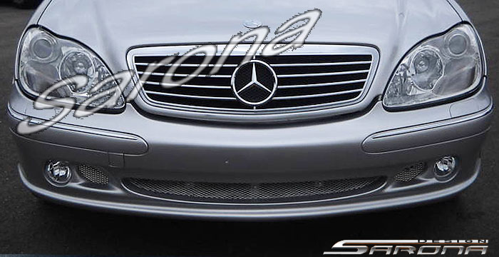 Custom Mercedes S Class Sedan Front Bumper 2003 2006