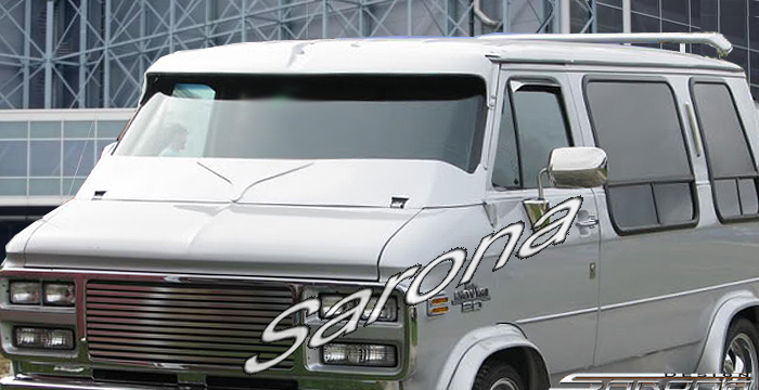 Custom chevy van wiper cowl sarona