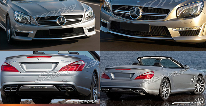 Custom Mercedes SL  Convertible Body Kit (2013 - 2016) - $2900.00 (Part #MB-126-KT)
