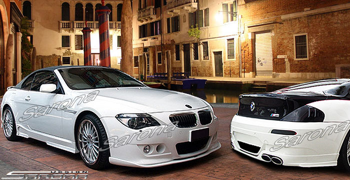 Custom BMW 6 Series Coupe Convertible Body Kit 2004